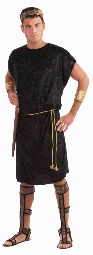 Forum Men's Black Tunic Costume