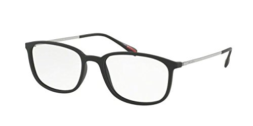 Prada Spectrum PS03HV Eyeglass Frames DG01O1-55 - Black - Eyeglass Spectrum