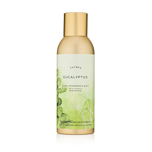 Thymes Eucalyptus Home Fragrance Mist - Relaxing Botanical Scented Room Spray - 3 oz by Thymes