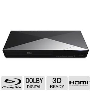 Sony BDPS3200 Blu-ray Disc Player with Wi-Fi (2014 Model) by Sony