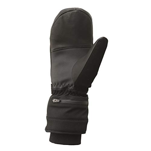 Black Black 30 Mittens Seven Mittens Ski AUPIpqW