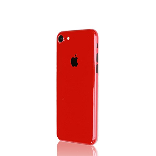 AppSkins Rückseite iPhone 7 Full Cover - Brilliant Gloss Red
