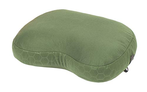 Exped Down Pillow for Camping & Travel, Medium, Mossgreen (Nylon Exped Sleeping Bag)