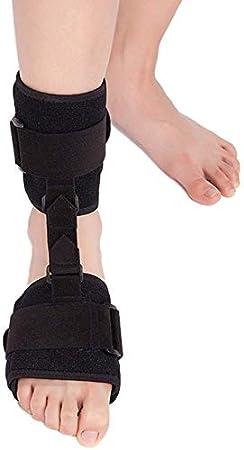 ZHAS Órtesis para el pie Tobilleras, Tirantes para los pies, Tobillo con Correa de Asistencia para la flexión Dorsal Mantiene el pie levantado para una Mejor Marcha al Caminar, Use Calzado descal