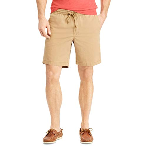 Chaps Men's Pull-On Deck Shorts (New Bronze, ()
