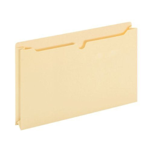 TOPS Globe-Weis File Jackets, 2 Inch Expansion, Legal Size, 11 Point Manila, 50 Jackets Per Box (B3045) by Globe Weis