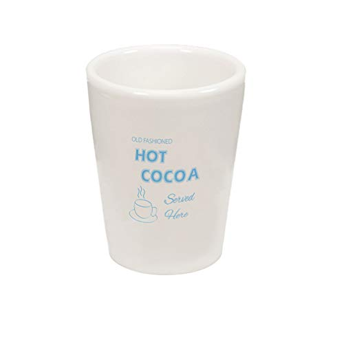 - Style In Print Light Blue Unsweetened Cocoa Powder 3 4 Cup and A Ceramic Shot Glass Cup