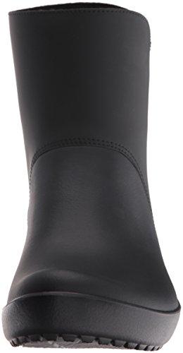 Noir Black Femme Crocs Bottes Rainfloe Pluie Bootie de 1nYnHSqAxw