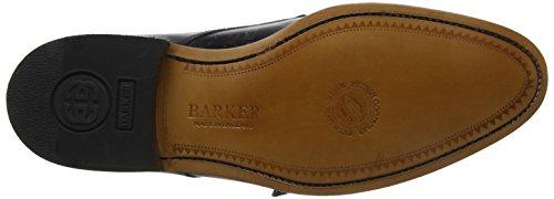 Barker Herren Tunstall Derbys Nero (vitello Nero)