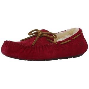 158027b1322 UGG Women's Dakota Moccasin, JESTER RED, 5 B US
