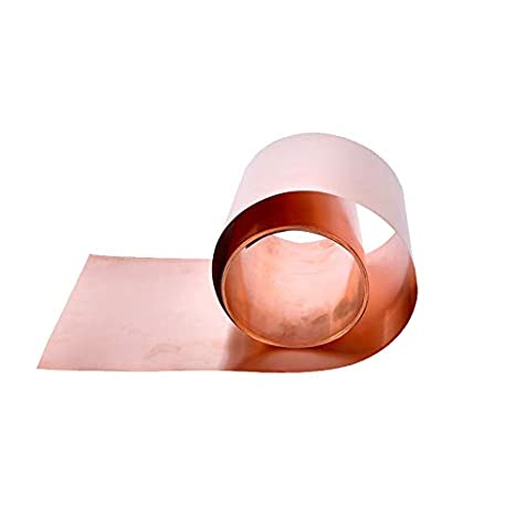 1pc Pure Copper sheet Metal Safe Sheet Foil For Handicraft Aerospace 99.99/%