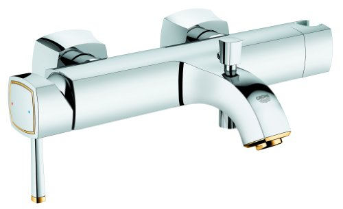 GROHE 23317IG0 1/2-inch Grandera OHM Single-Lever Bath/ Shower Mixer - Chrome... Ohm Mixer