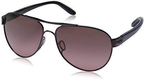 Oakley Women's Disclosure OO4110-01 Aviator Sunglasses, Blackberry, 58 - Purple Womens Oakley Sunglasses
