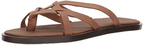 Sanuk Women's Yoga Strappy Sandal, Tobacco, 11 M US by Sanuk
