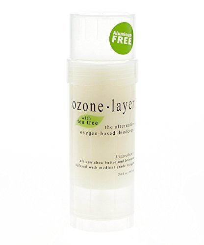 Ozone Layer Deodorant with Tea Tree Essential Oil - The All Natural Oxygen Based Deodorant