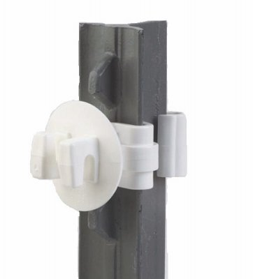 (Dare Products SNUG-STP-25W 25PC Snug T-Post Insulator - Quantity 20)