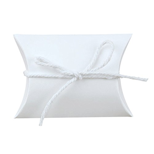 White Pillow Boxes - 8
