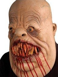 Meat Eater Latex Horror Mask - Halloween by Morris Costumes -
