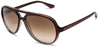 Ray-Ban CATS 5000 - BROWN GRADIENT ON GRAY T Frame CRYSTAL BROWN GRADIENT Lenses 59mm Non-Polarized