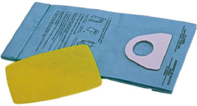 Shop-Vac 90106-00 3 pack Mighty Mini Replacement Vacuum Bags & Filter - Quantity (Shop Vac Mighty Mini)
