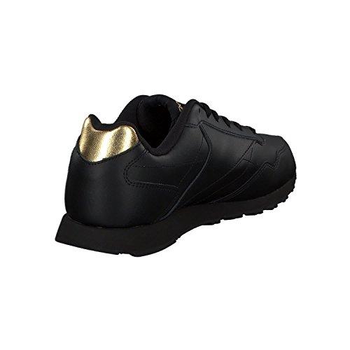 Reebok Royal Glide LX, Zapatillas de Trail Running Para Mujer BLACK/GOLD MET
