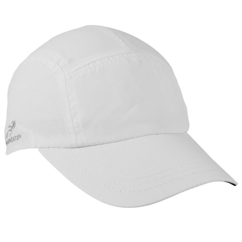 Triathlon Running Hat (Headsweats Woven Race Performance Running/Outdoor Sports Hat, White, One Size Fits All)