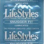 100 Lifestyles Snugger Fit Condoms; Tighter Shape for Maximum Sensitivity by CondomMan