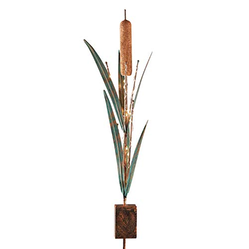 Grasslands Road Cattail Light-Up Stake ()