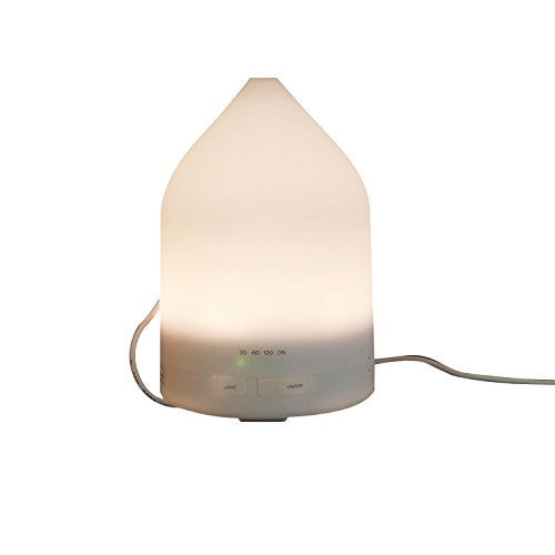 Sololife Battery Built-in Series 150ml Aromatherapy Essential Oil Diffuser Portable Ultrasonic Cool Mist Aroma Humidifier with Warm White LED Light for Home Office Bedroom Room - Oil 150 Ml Series