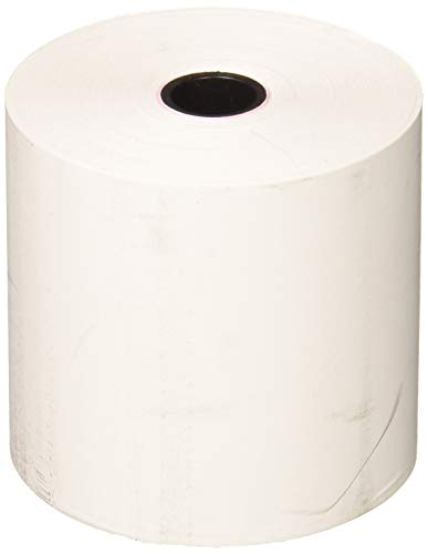 FHS Retail Thermal Receipt Paper, 2.25 Inches x 165 Feet Roll, 6 per Pack (Calculator Paper Tape)