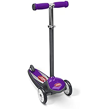 Radio Flyer Color FX EZ Glider 3 Wheel Scooter, Purple
