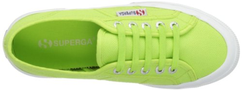 Mixte Baskets Vert Superga Green 2750 Classic acid Adulte Cotu 7qSTAH