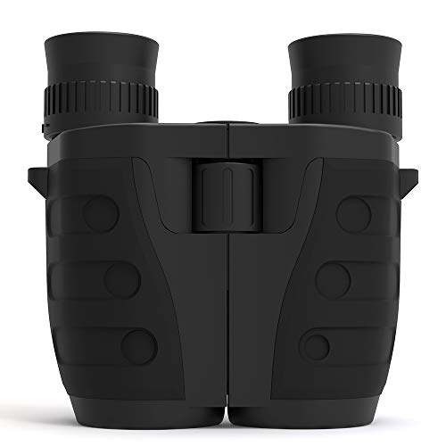 Lixada 10x25 Folding Compact Binoculars Waterproof Binocular Telescope with Weak Light Night Vision Clear Bird Watching Great for Outdoor Sports Games and Concerts