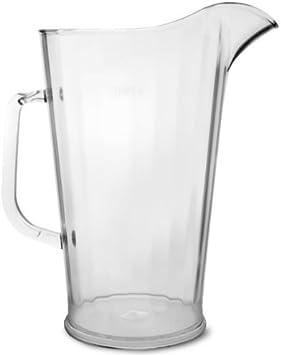 HDIUK, Jarra de 2 litros de policarbonato para barbacoas, Bares, Jardines, Piscinas, Zumo, Leche, Agua o Cerveza