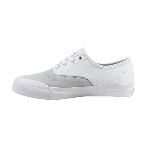 HUF Mens Cromer Skateboarding Shoe White Light Grey M5XH0BOMkX
