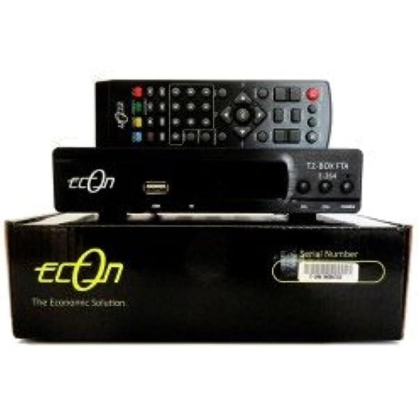 ECON Receptor TDT en Alta definición E-264: Amazon.es: Electrónica