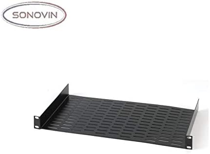 Sonovin Raxxess UNS-1 Vented Universal Rack Shelf Color:Black