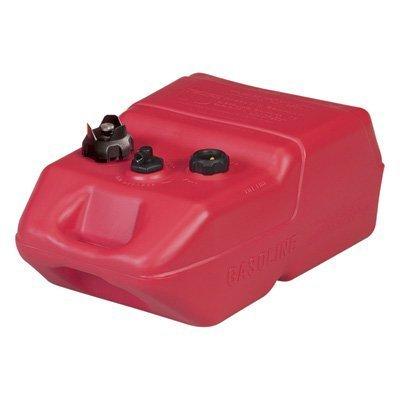 Moeller Marine EPA- Compliant Topside Fuel Tank - 6 Gallons, Low Profile, Model# 620049LP