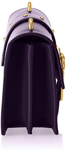 Seta Viola Mornat Cordiale Love Women's Pinko Purple Bag Tracolla Vitello Simply Mini Shoulder qFPvPTY