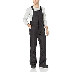 Arctix Men's Essential Bib Overall, Black, 3X-Large/Tall