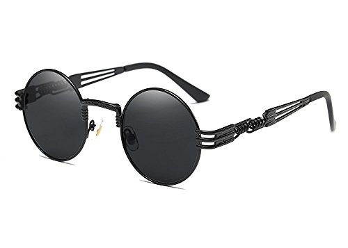 Larvin Torria John Lennon Steampunk Style Round Teashade - Sunglasses Teashade
