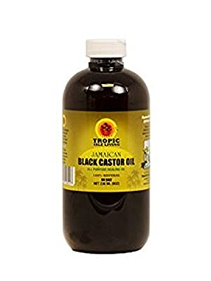 Tropic Isle Living Jamaican Black Castor Oil, 8 fl. oz.