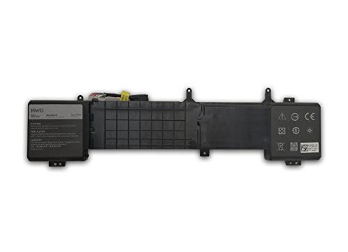 HWG 6JHDV Battery Compatible Dell Alienware 17 R2 5046J P43F Series, Fits P/N 6JHDV (14.8V 92WH) by HWG (Image #1)