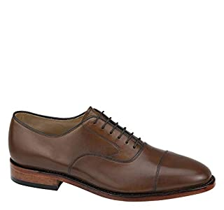 Johnston & Murphy Men's Melton Cap Toe Shoe Tan Calfskin 9.5 3E US (B00MG5Y8GY) | Amazon price tracker / tracking, Amazon price history charts, Amazon price watches, Amazon price drop alerts