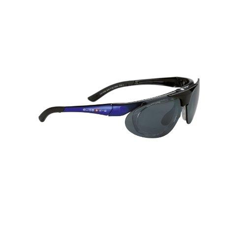 Swiss Eye Vision Lunettes de sport Unisexe Bleu/Fumée