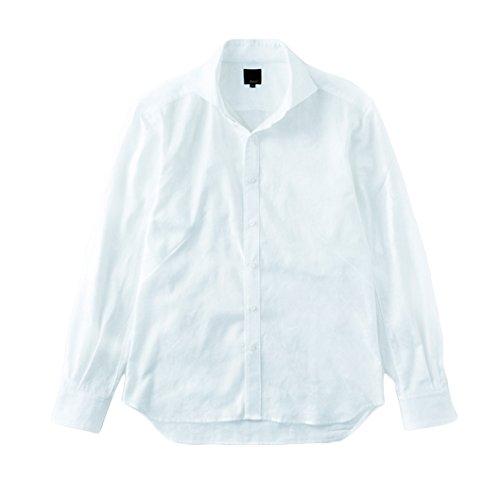 レリック シャドー織カモ柄シャツ ホワイト 3   B01JYBAU1O