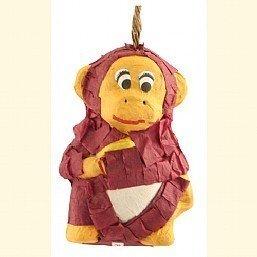 Mini Polly Wanna Pinatas Monkey Bird Toy (Polly Wanna Bird Toy)