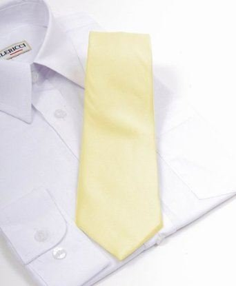 New Polyester Boy's Neckties Solid Neck Tie 25 Colors