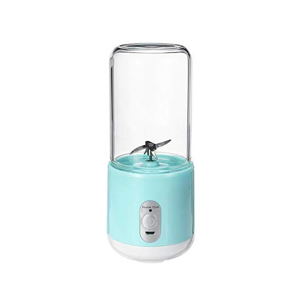 260ml portatile elettrico tazza di succo di miscelazione a sei lame USB frullati ricaricabili frullatori per alimenti… 4 spesavip
