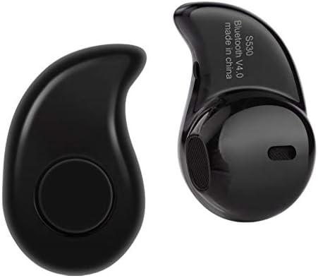 Pandiki S530 Mini Bluetooth 4.1 + EDR In-Ohr-Kopfhörer-Hörmuschel Unsichtbare Kopfhörer drahtloser Kopfhörer Sports Earbud